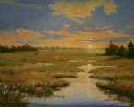 Sounds of Silence by Paula Holtzclaw-Oil-16X20