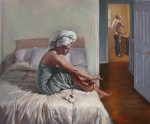 Ritual by Joseph Henry Moniz-Oil-20X24
