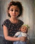 Isn't She Lovely by Namei Farshid-Oil- 20X16