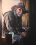 The Blacksmith by Christina Ramos-Acrylic-30X24