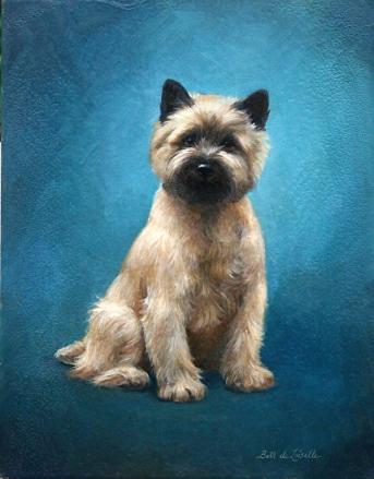 Cairn Terrier by Beth de Loiselle
