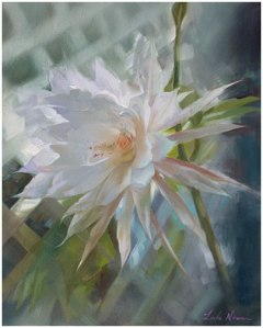 Burst of Beauty by Linda Nearon - Oil -20X16