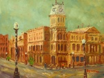 Another fun Plein Air from the trip, City Hall 6x8