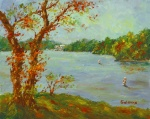 Quick Plein Air of the Lake of the Ozarks State Park