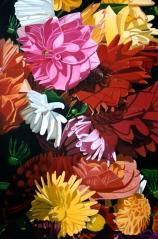 Dahlias by Katherine Bleser - atlantaartgallery.com/bleser.html