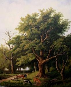 Painting by Cuban artist Yorguis Menendez-Humaran