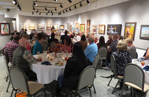 Awards Banquet at the Dunnegan Gallery of Art - Best of America Exhibit 2015
