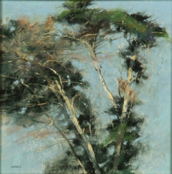 NOAPS Handell EVENING BREEZE by Albert Handell pastel 18x16