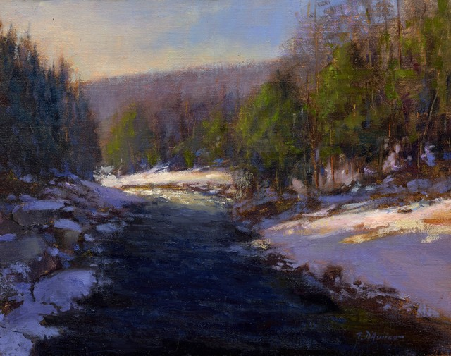 NOAPS D'Amico An Early Winter, 11x14
