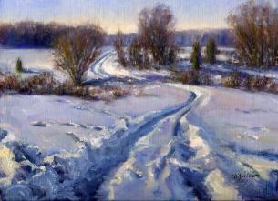 NOAPS D'Amico Snow Tracks 9x12