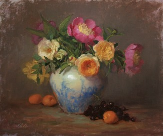 NOAPS Robbins Peonies and Roses 20x24