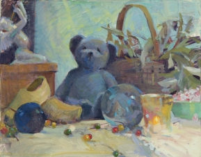 NOAPS Whitelaw BearlyThere16x20collection of the artist oil