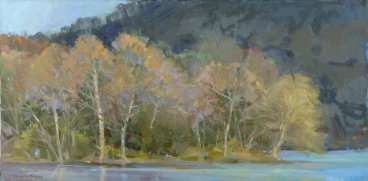 NOAPS Whitelaw Spring is Stirring20x40 PrivateCollection OIL