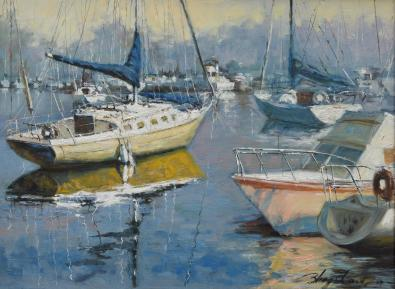 NOAPS Zhang Sidney 12x16 Oil on Canvas