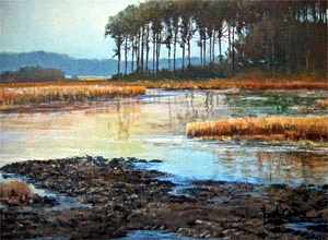 NOAPS Orr Diamond in the Marsh 12x16 Red Piano Gallery