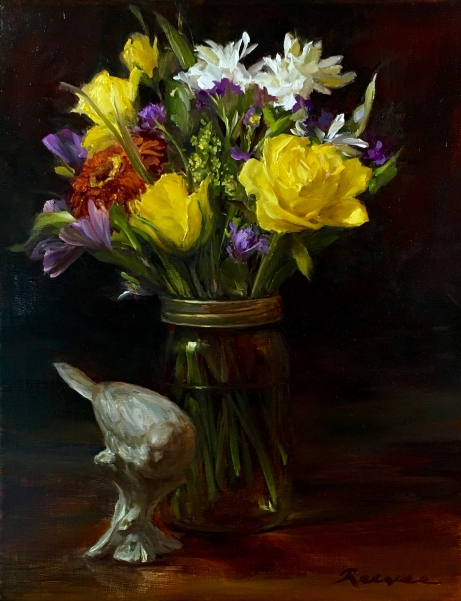 NOAPS Reeves, Diane Simple Joys 14x11 Oil on Canvas