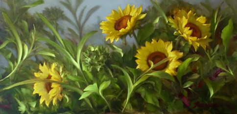 NOAPS Reeves_Joy in the Morning 12 x 24 oil