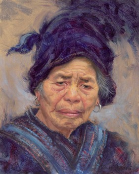 NOAPS Thompson, Chinese Grandmother 12x9