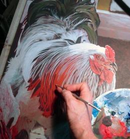 NOAPS Altenburg King of Coop Paint