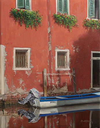 NOAPS Calm Morning in Chioggia 20x16 Whytock_John_595811-1