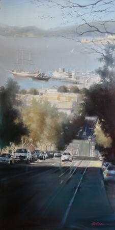NOAPS Wu San Francisco Bay View 48x24