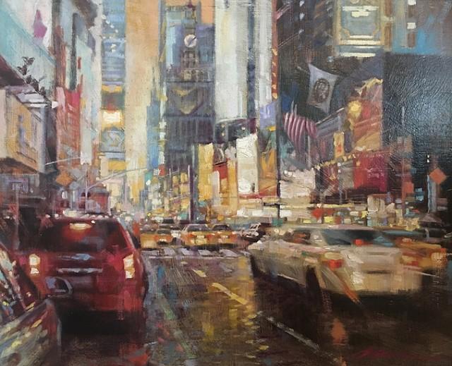 NOAPS Wu Times Square Traffic 14x18