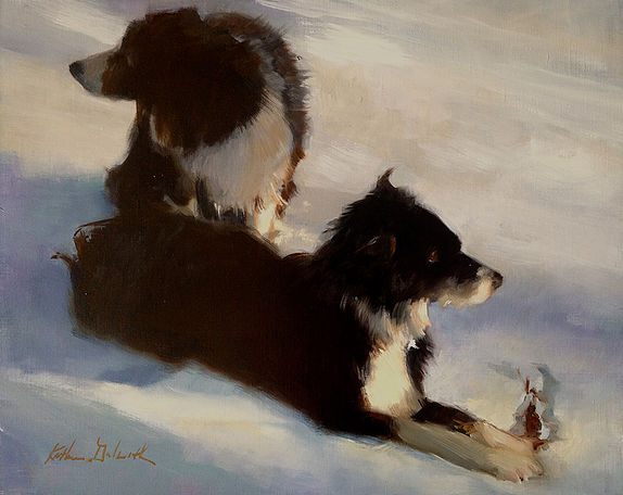 NOAPS Snowy Afternoon Walk 16x20Galbraith_Katherine_597618-1
