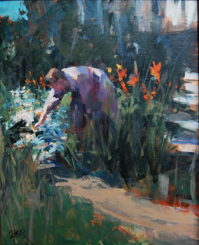 NOAPS Dyer A Garden at La Bonne Etoile