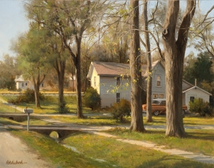 NOAPS Pot At the Edge of Town - 24 x 30 - Oil - Illume Gallery[22959]