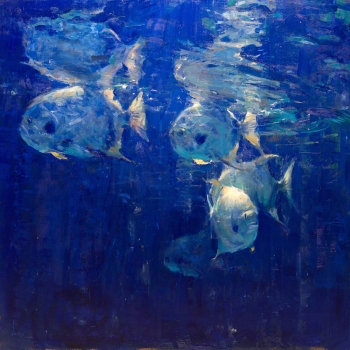 NOAPS Penix-Into the Blue 36x36
