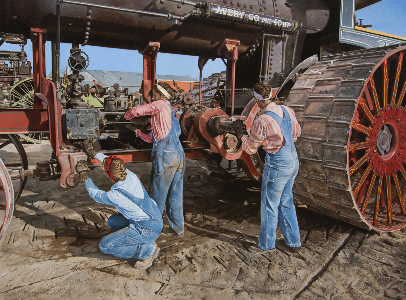 NOAPS Alban Avery Restoration 30x40